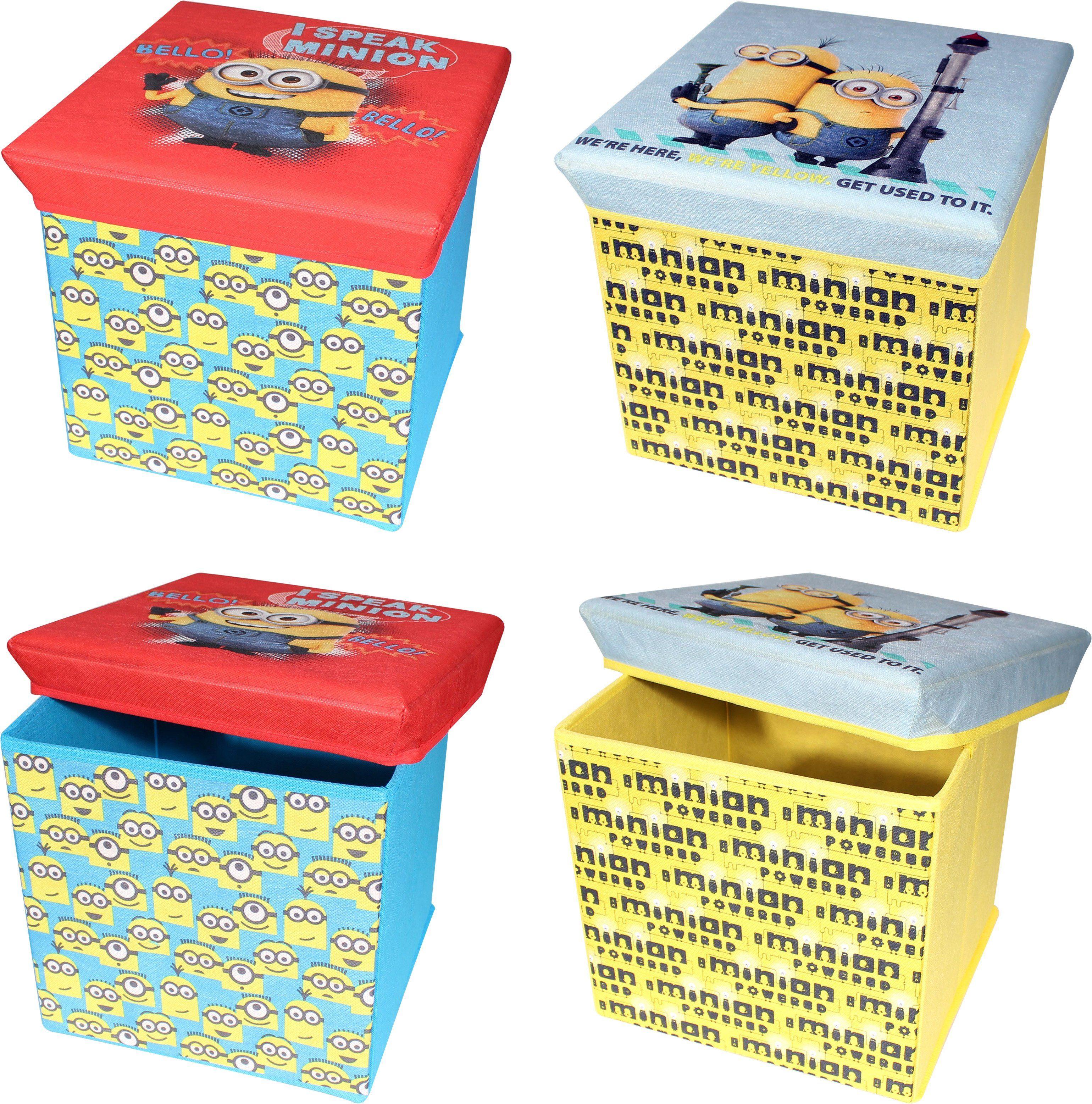 p:os Ordnungsboxen, »Minions Aufbewahrungshocker«