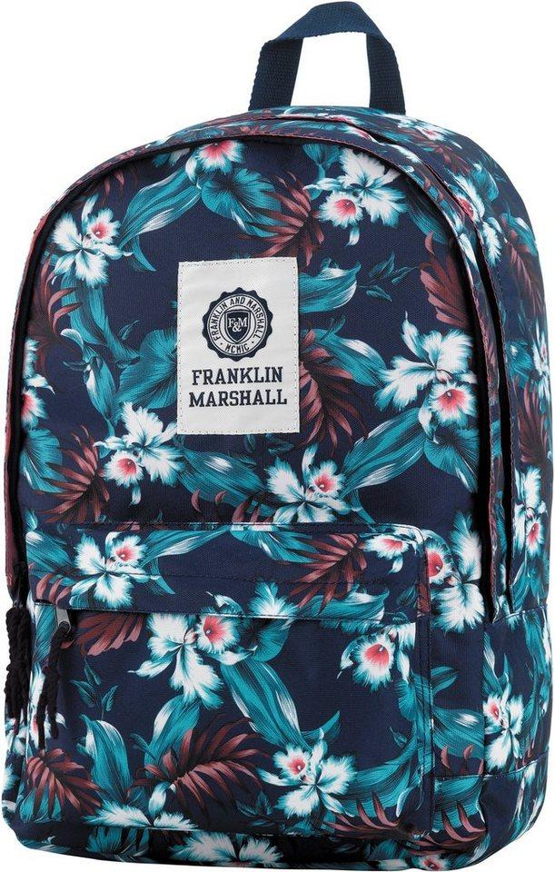 franklin marshall rucksack mit gummiertem bodenschutz. Black Bedroom Furniture Sets. Home Design Ideas