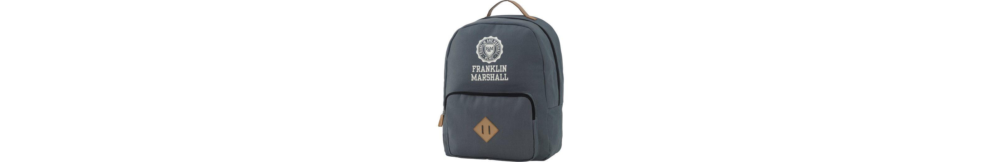 Rucksack mit gepolstertem Laptopfach, »Franklin & Marshall, Boys Backpack, grau«