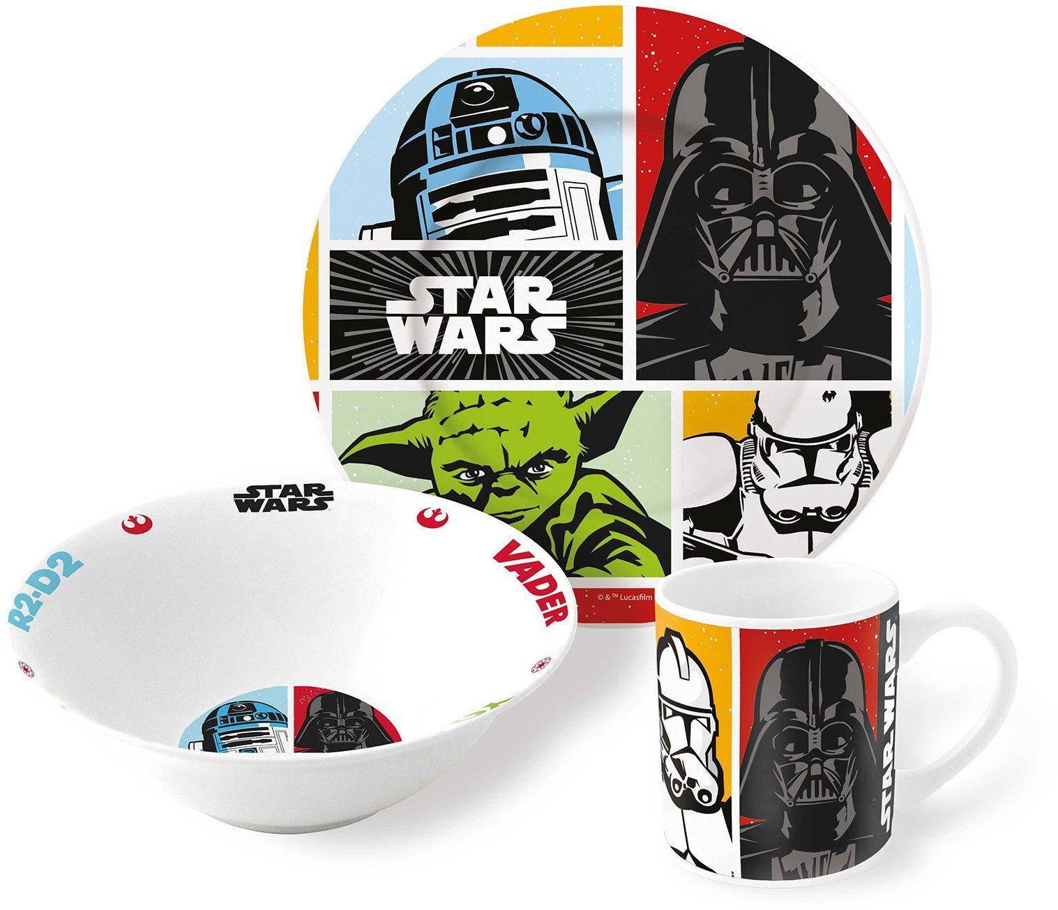 p:os Kindergeschirrset, »Disney Star Wars Keramikset«