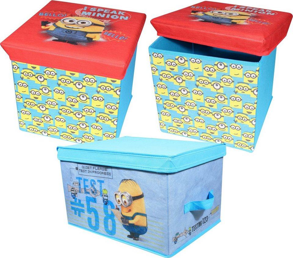 p:os Ordnungsboxen, »Minions Aufbewahrungsset«