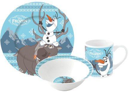 p:os Kindergeschirrset, »Disney Frozen Keramikset Olaf«