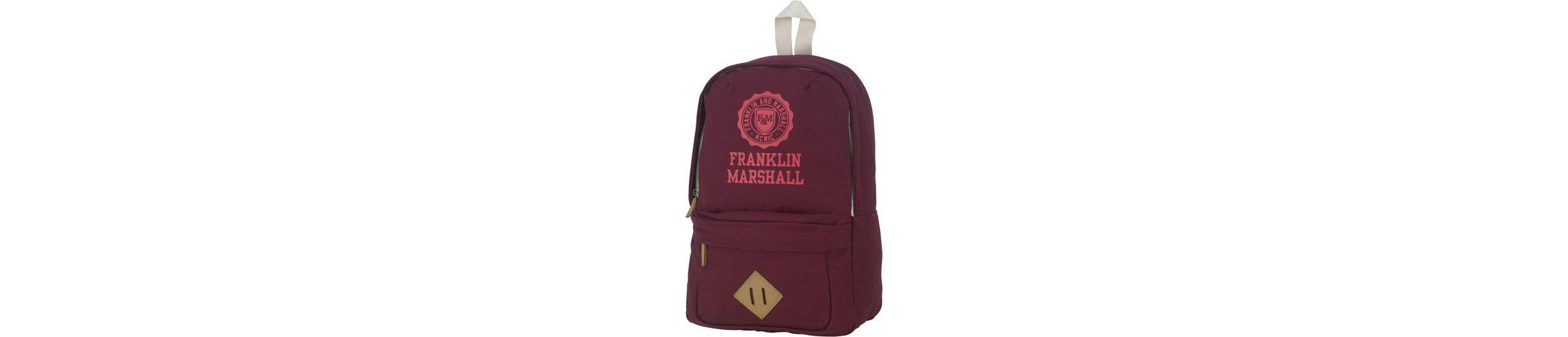 Rucksack, »Franklin & Marshall, Girls Backpack, bordeaux rot«