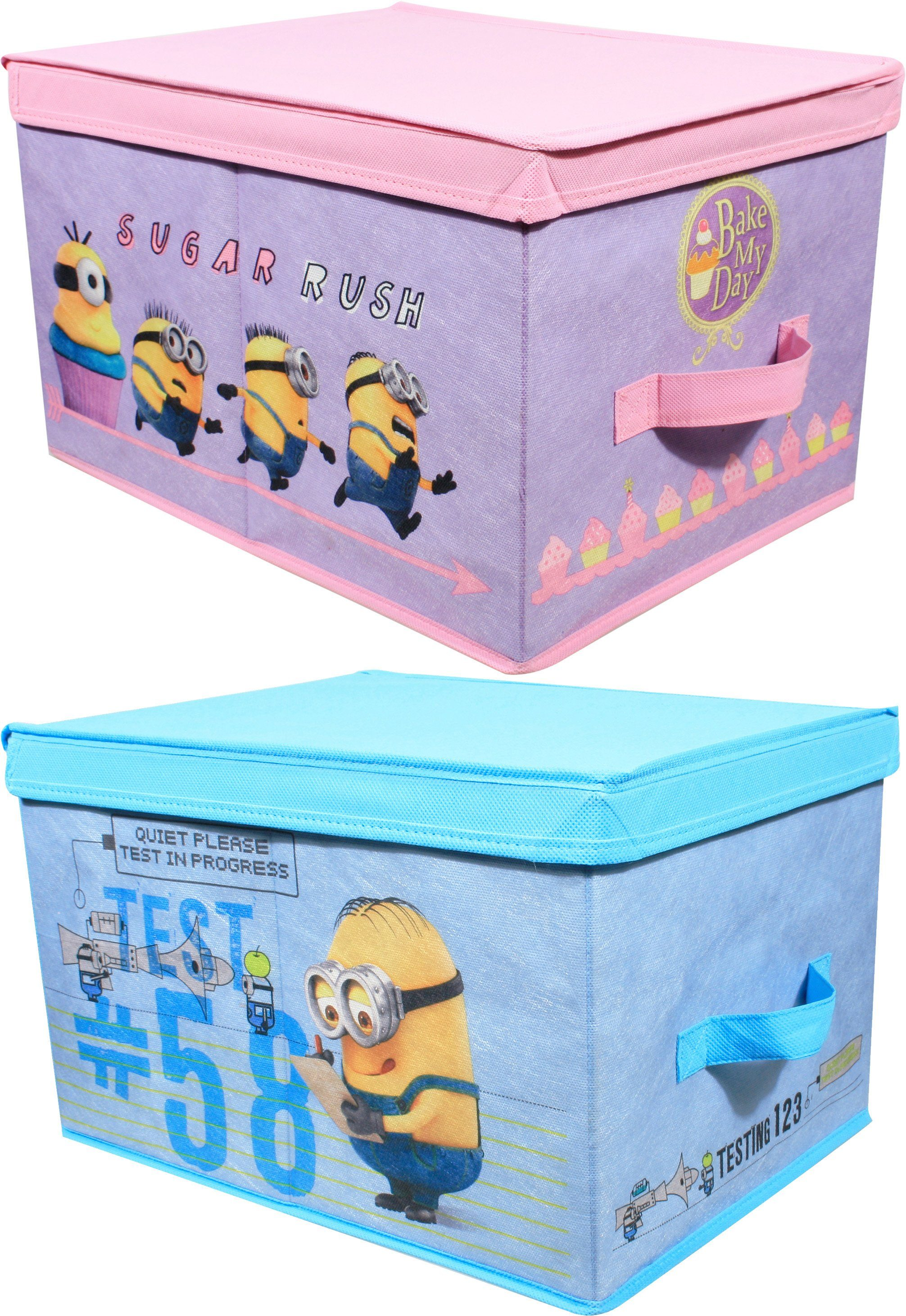 p:os Ordnungsboxen, »Minions Aufbewahrungsboxen«