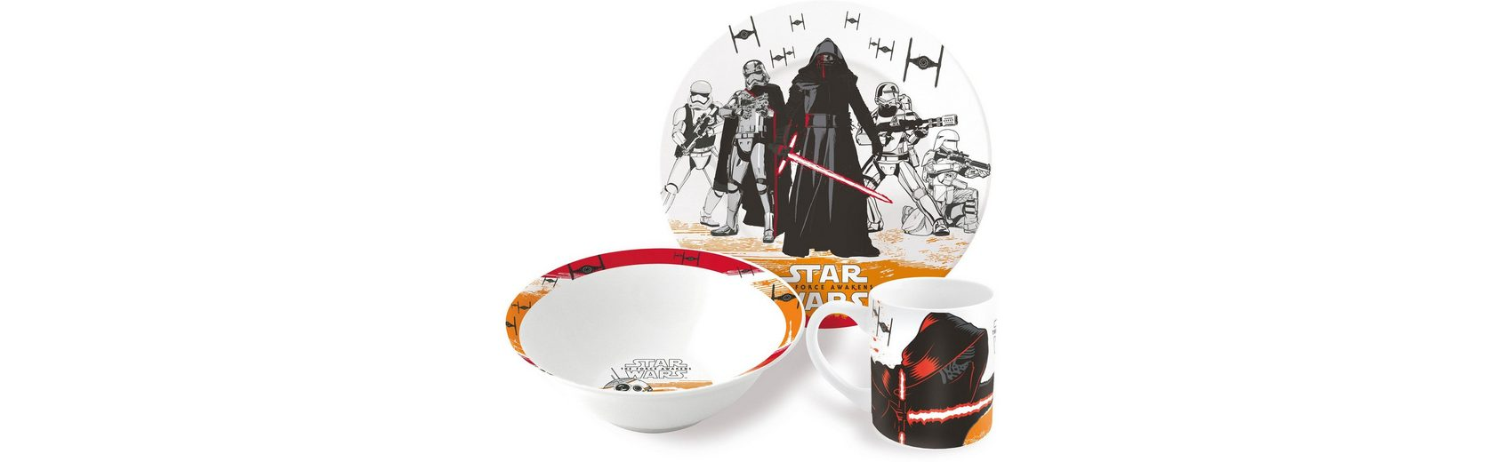 p:os Kindergeschirrset, »Disney Star Wars Episode 7 Keramikset«