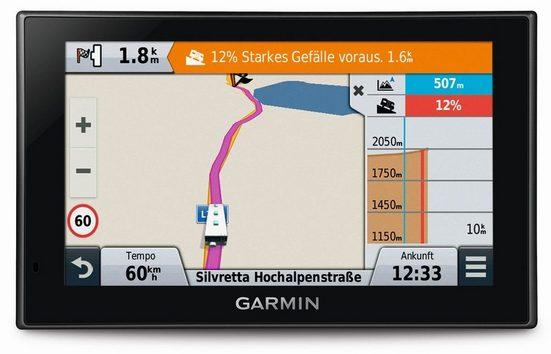 Garmin Caravan-Navigationsgerät »Camper 660LMT-D EU«