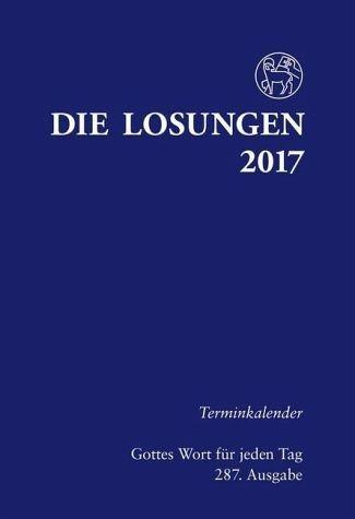 Broschiertes Buch »Losungen für Deutschland 2017 Terminkalender«