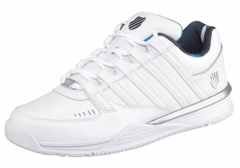 K-Swiss »Baxter« Sneaker in weiß-silberfarben