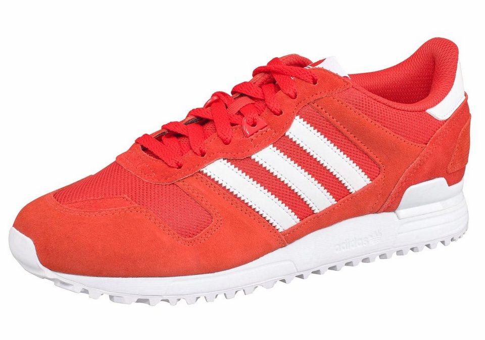 adidas Originals »ZX700« Sneaker in rot-weiß