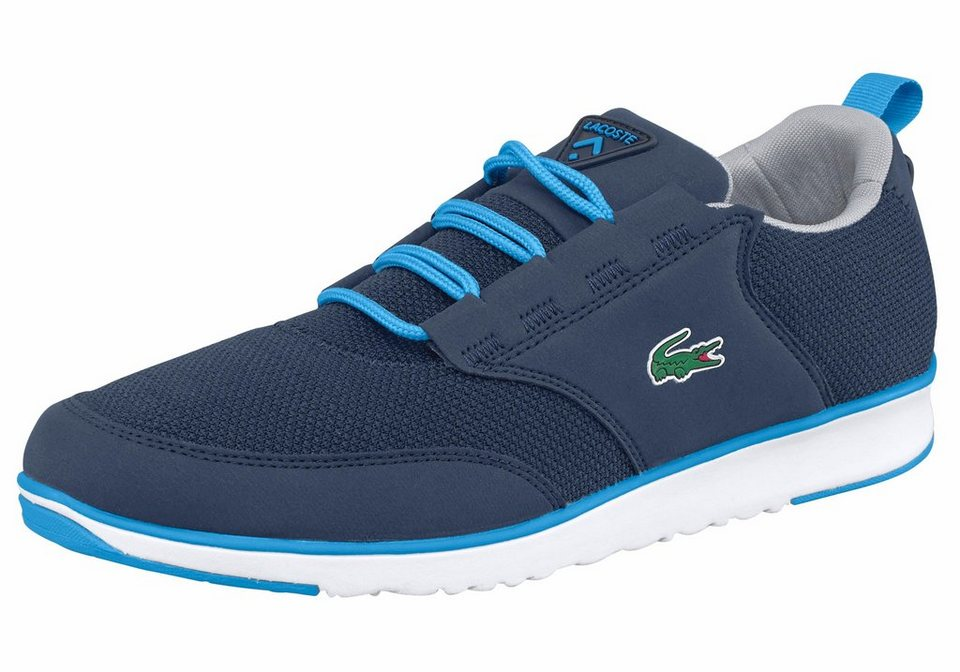 Lacoste »Light 117 1 SPM« Sneaker in blau-weiß