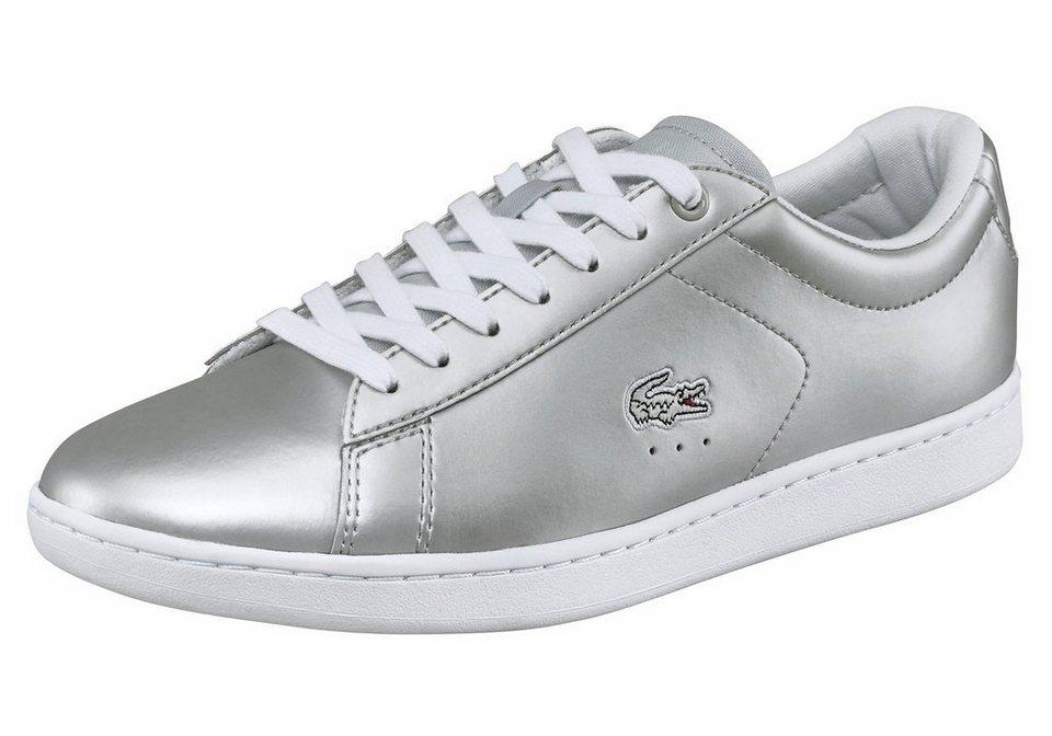Lacoste »Carnaby Evo 117 3« Sneaker in silberfarben