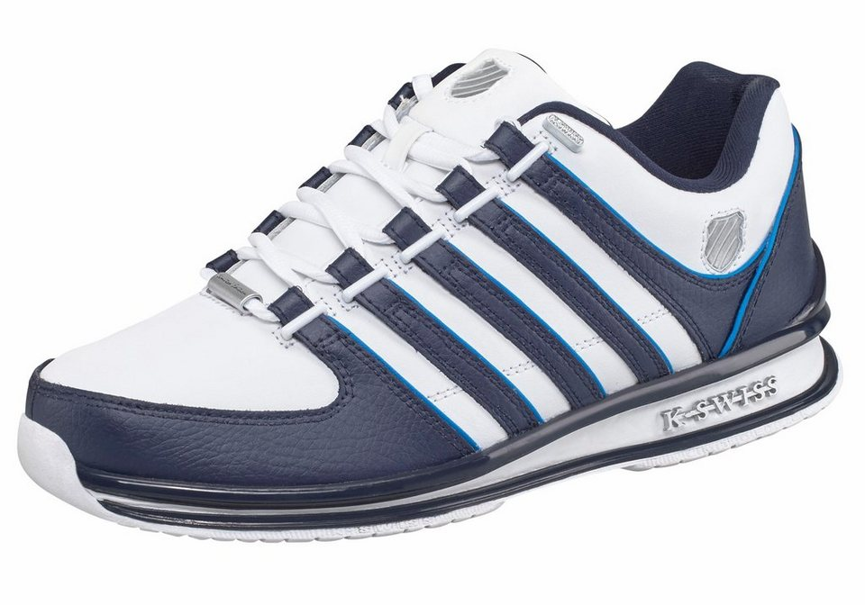 K-Swiss »Rinzler« Sneaker in weiß-dunkelblau