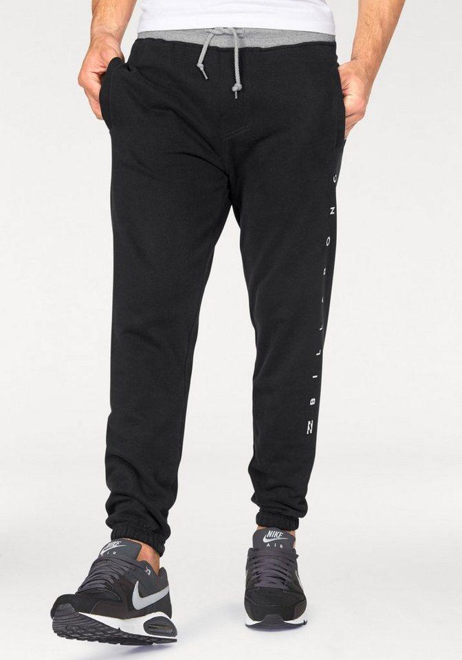 Billabong Jogginghose in schwarz-grau