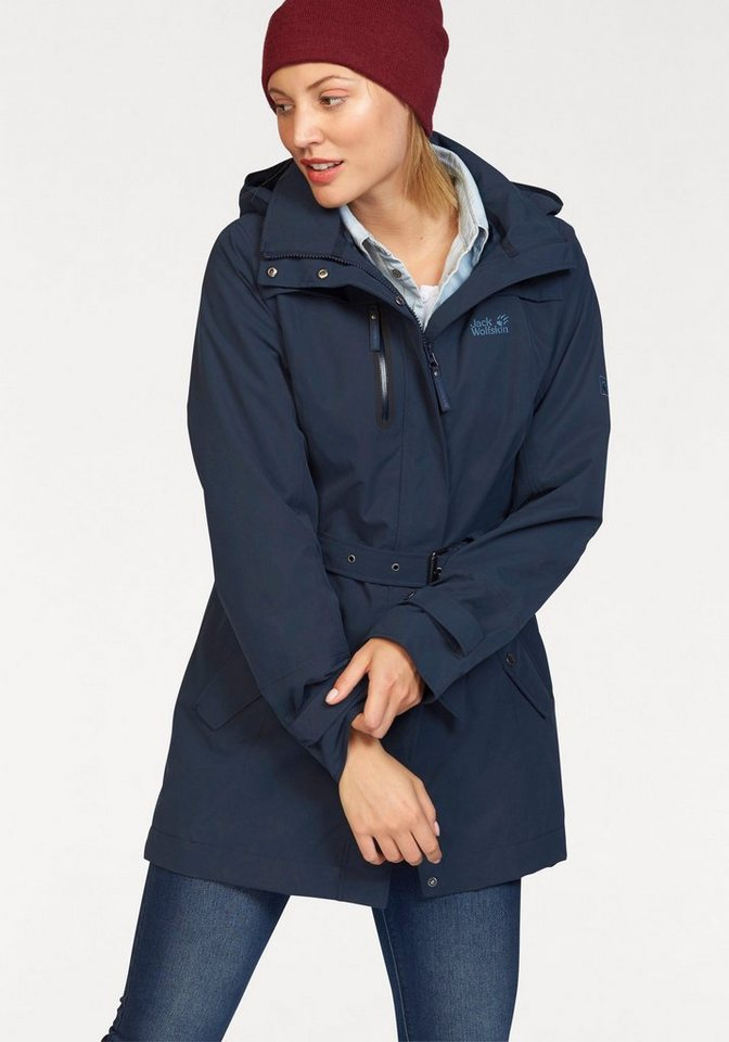 Outdoorjacken jack wolfskin damen
