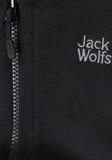Jack Wolfskin Fleecejacke MOONRISE, passend zum 3in1-System Short