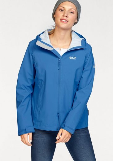 Jack Wolfskin Functional Jacket Arroyo, From Water And Windproof Material