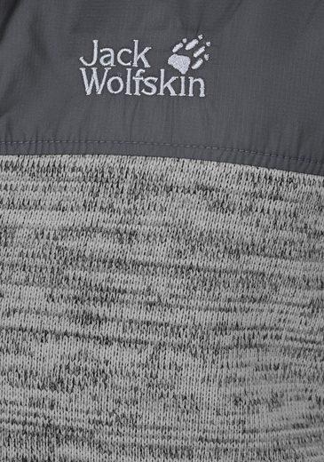 Jack Wolfskin Strickfleecejacke AQUILA, passend zur 3-in-1 System Short-Serie