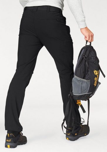 Maier Sports Trousers Trekking Nil, From 4-way Stretch Material