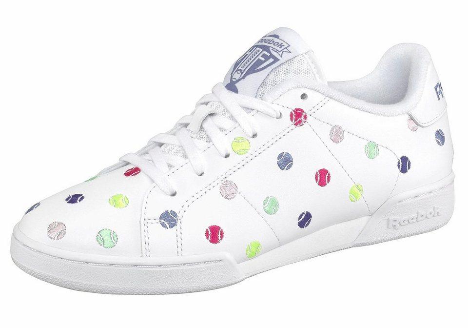 Reebok »NPC II NE EH« Sneaker in weiß-lilablau