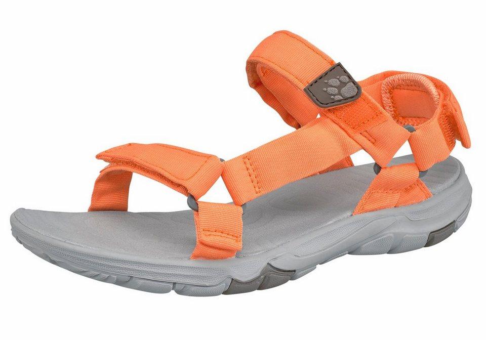Jack Wolfskin »Seven Seas 2 Sandal W« Outdoorsandale in orange-grau