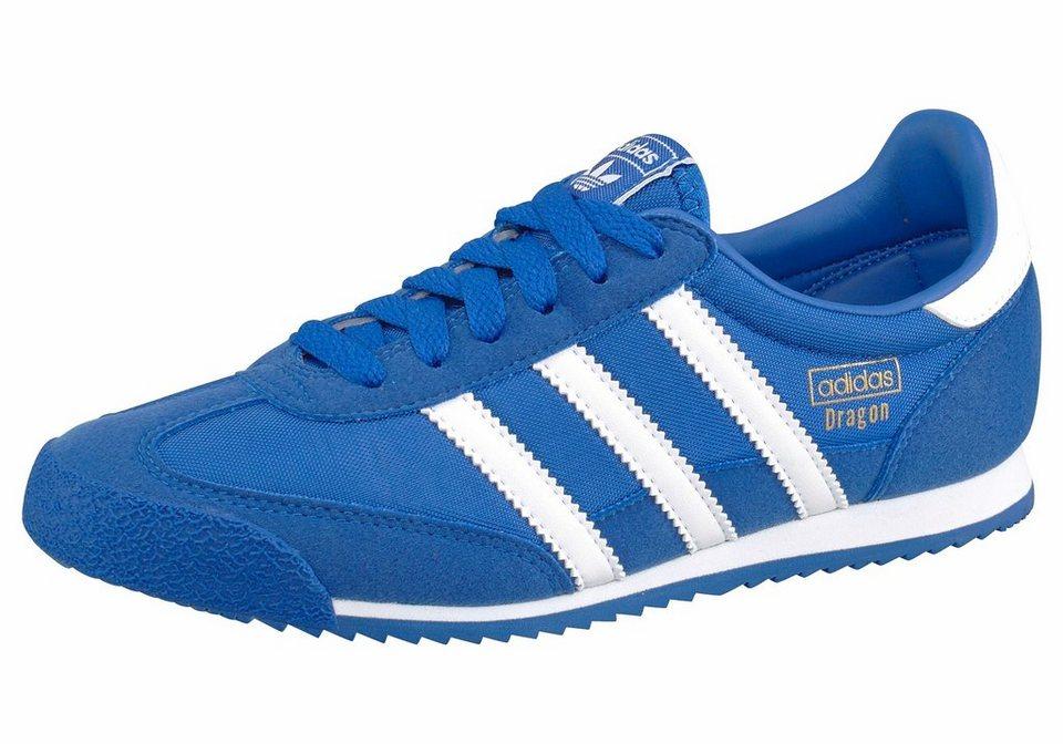 adidas Originals »Dragon OG Junior« Sneaker in blau-weiß