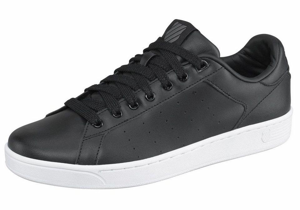 K-Swiss »Clean Court CMF« Sneaker in schwarz-weiß