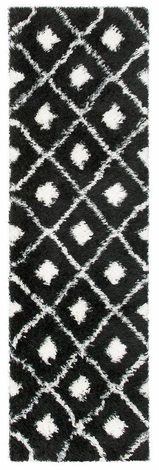 Hochflor-Läufer, my home Selection, »Maren«, Höhe 50 mm, gewebt