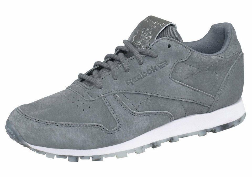 Reebok »Classic Leather SHMR« Sneaker in dunkelgrau