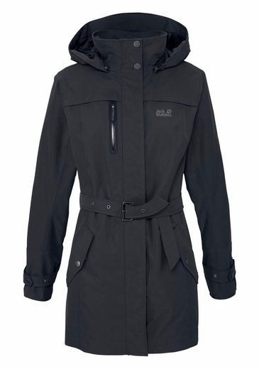 Jack Wolfskin Functional Parka Coat Kimberley, 100% Weather Protection