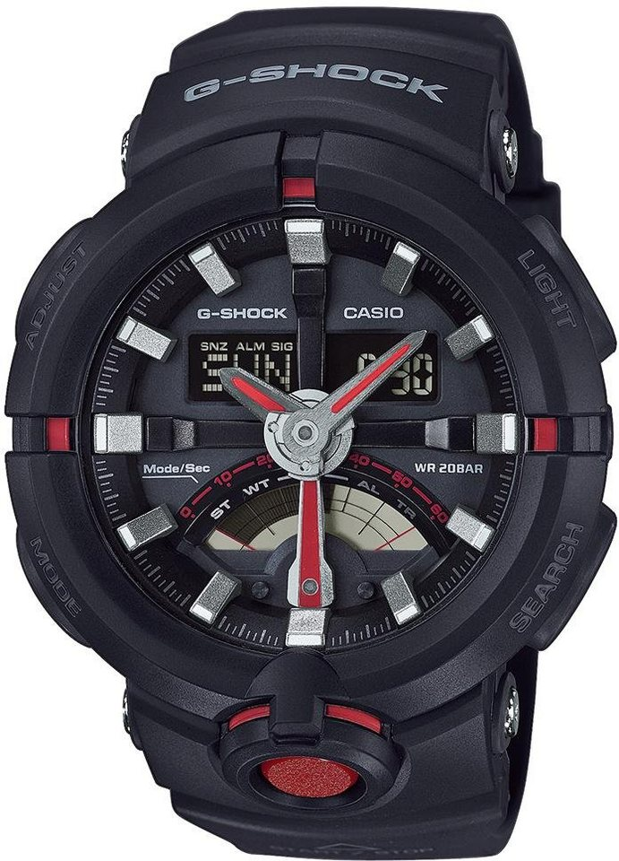 Casio G-Shock Chronograph »GA-500-1A4ER« in schwarz