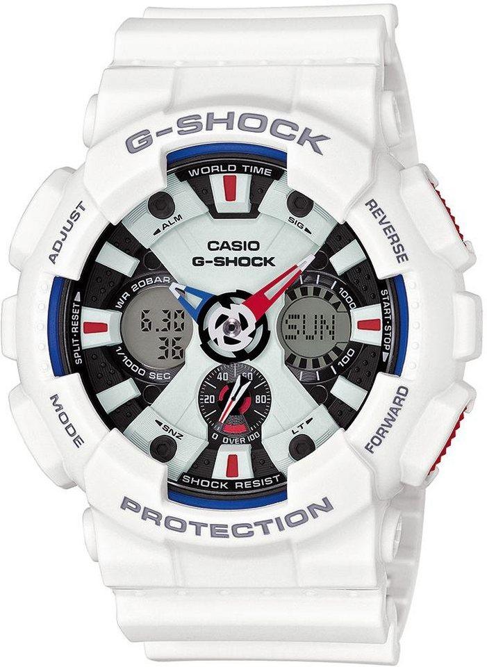 Casio G-Shock Chronograph »GA-120TR-7AER« in weiß
