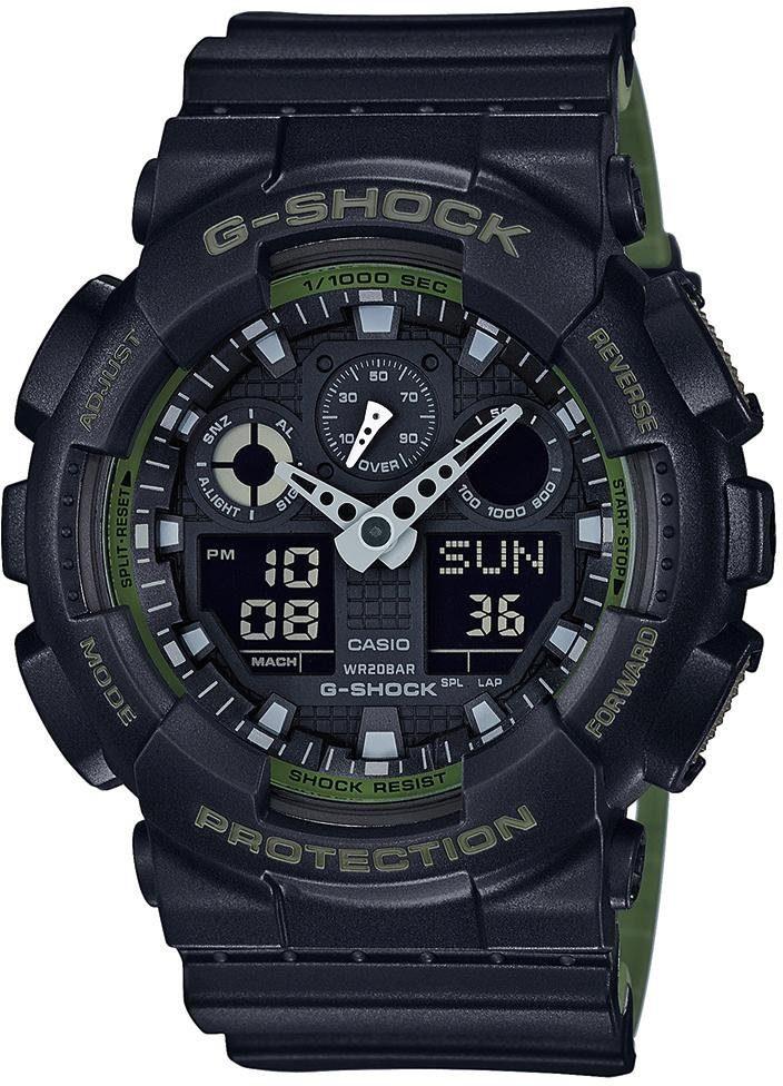 G-Shock Chronograph »GA-100L-1AER«