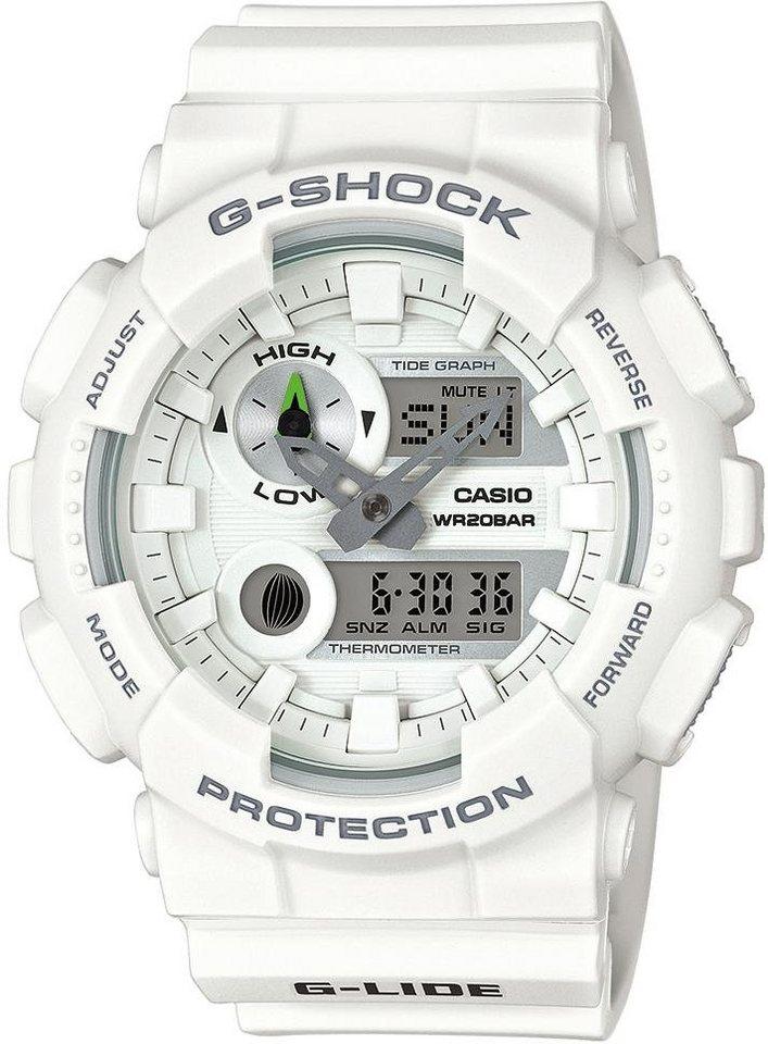 Casio G-Shock Chronograph »GAX-100A-7AER« mit Mondphasen in weiß