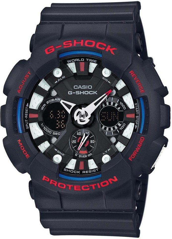 Casio G-Shock Chronograph »GA-120TR-1AER« in schwarz
