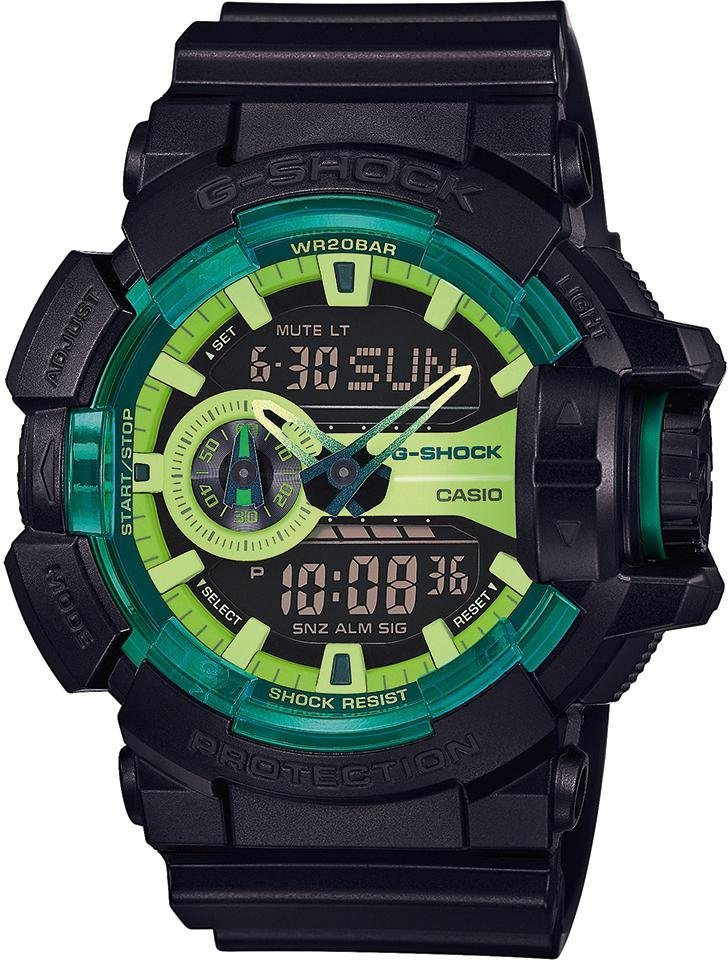 Casio G-Shock Chronograph »GA-400LY-1AER« in schwarz
