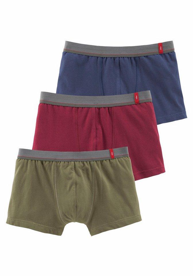 s oliver red label bodywear boxer 3 st ck kaufen otto. Black Bedroom Furniture Sets. Home Design Ideas