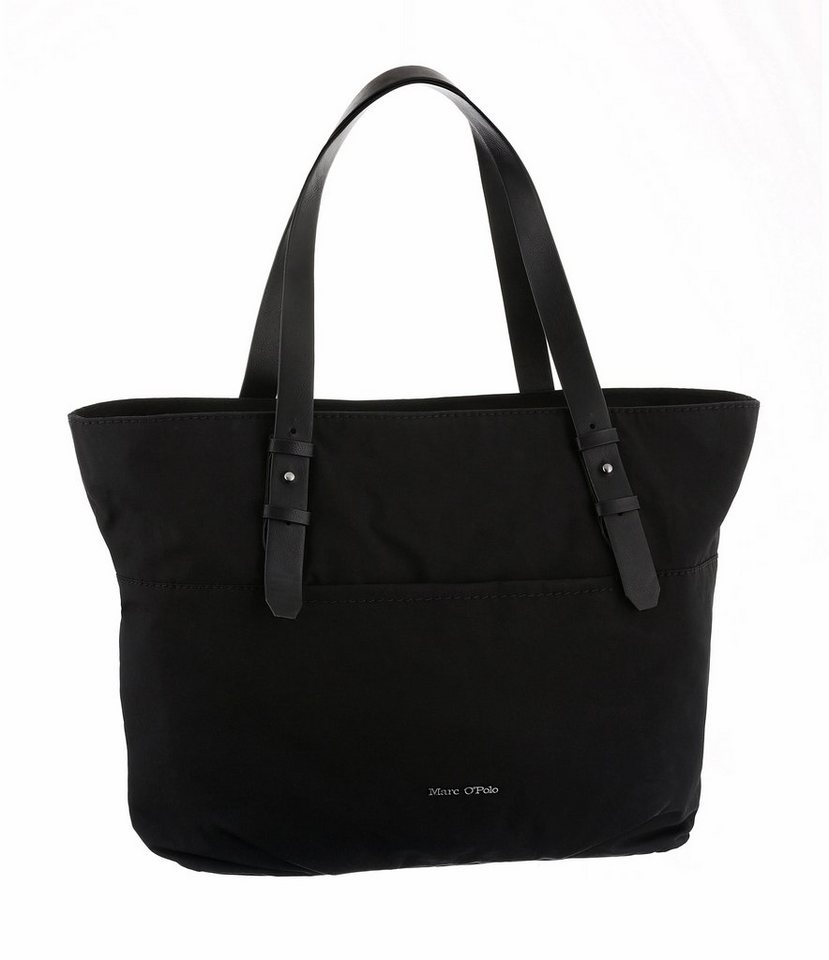 Marc O'Polo Shopper in schwarz-braun