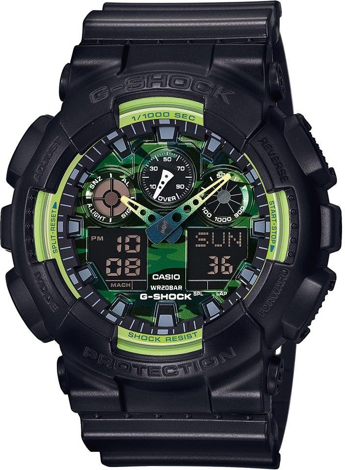 Casio G-Shock Chronograph »GA-100LY-1AER« in schwarz