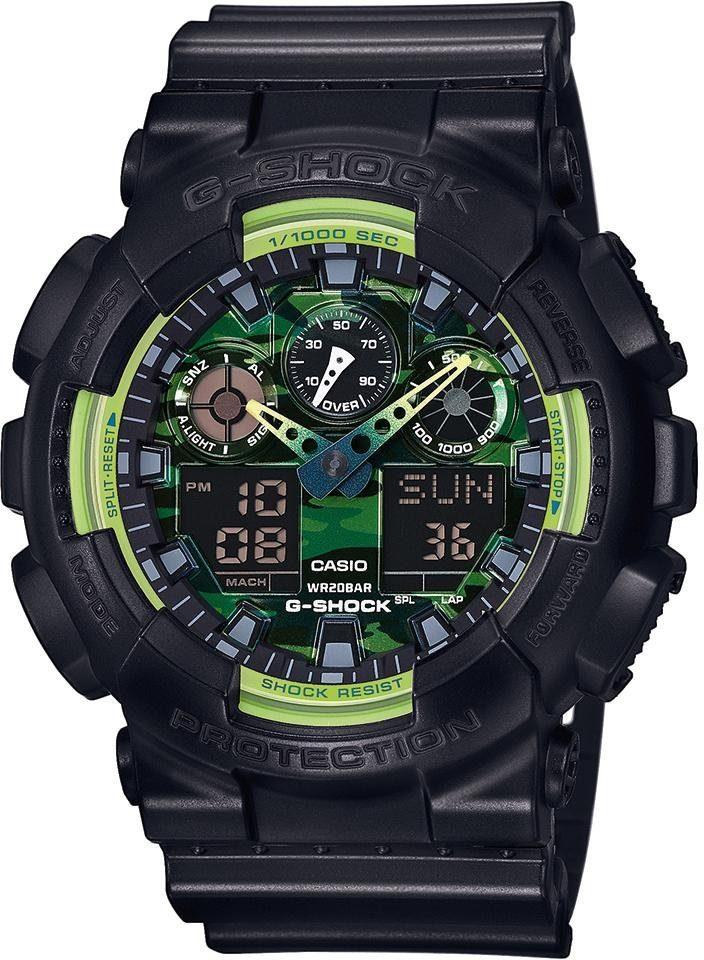 Casio G-Shock Chronograph »GA-100LY-1AER«