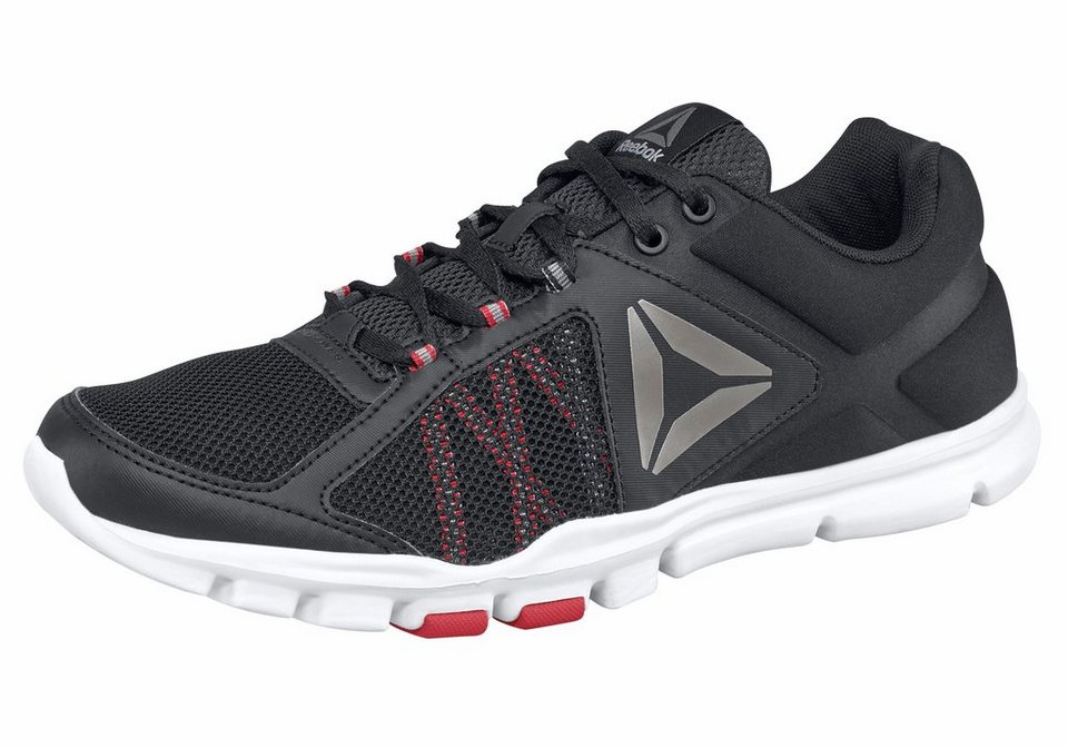 Reebok »Yourflex Train 9.0« Trainingsschuh in schwarz-grau