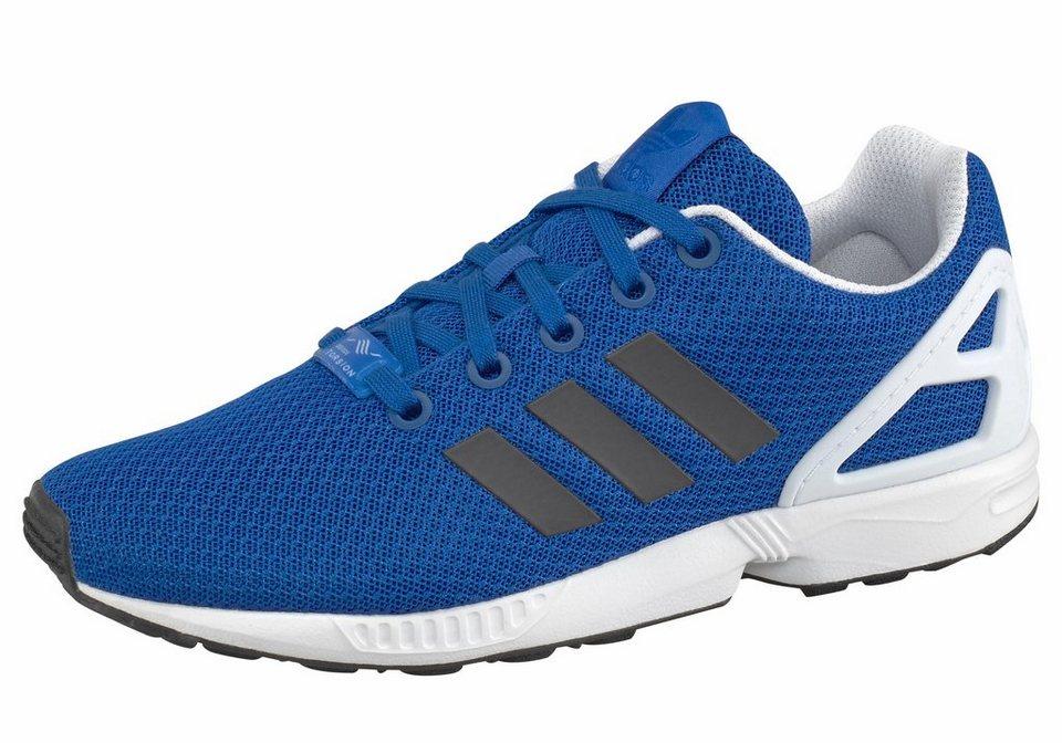 adidas Originals »ZX Flux Junior« Sneaker in blau-schwarz