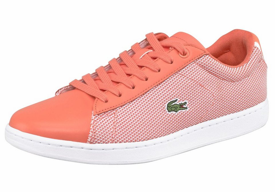 Lacoste »Carnaby Evo 117 1« Sneaker in pfirsich