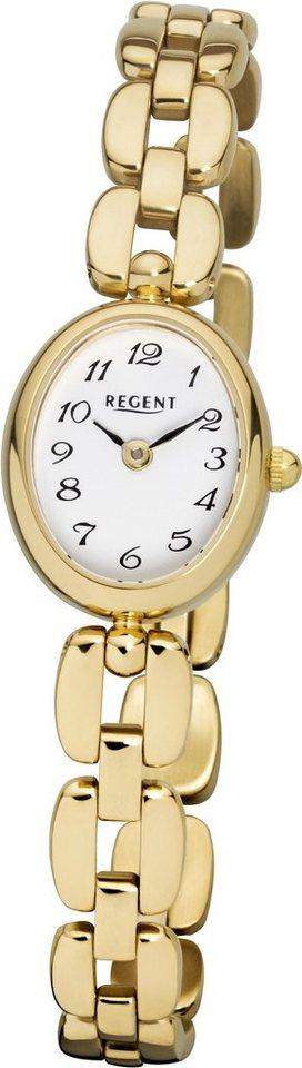 Regent Quarzuhr »12210957« in goldfarben