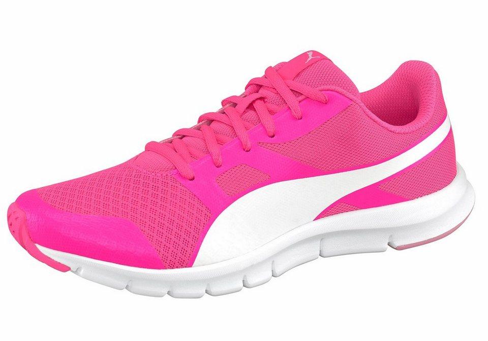 PUMA »Flexracer« Laufschuh in pink-weiß