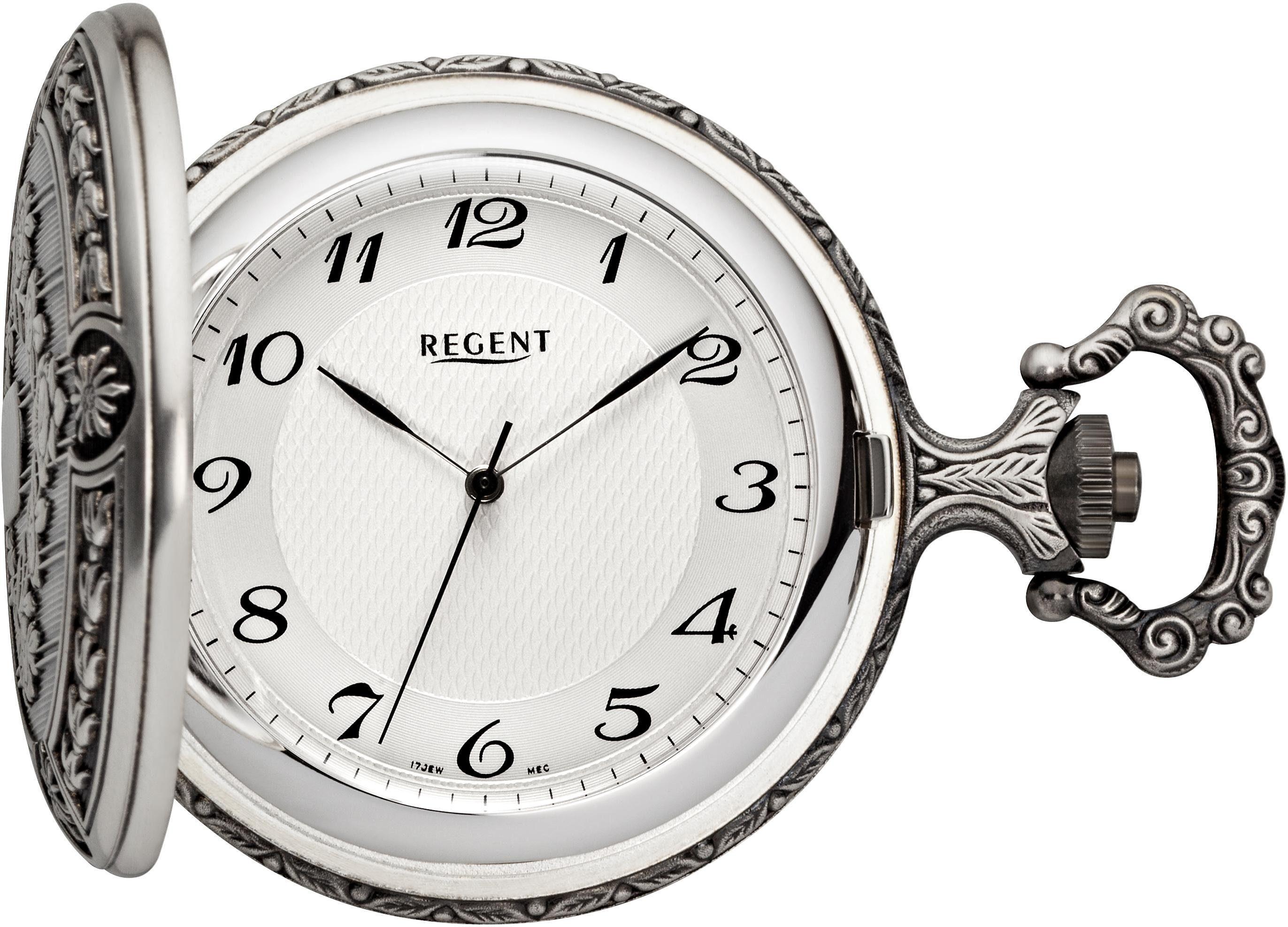 Regent Taschenuhr »11340081« (Set, 2 tlg), inkl. Kette