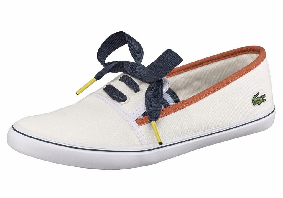 Lacoste »Fabian 117 2« Sneaker in weiß-blau