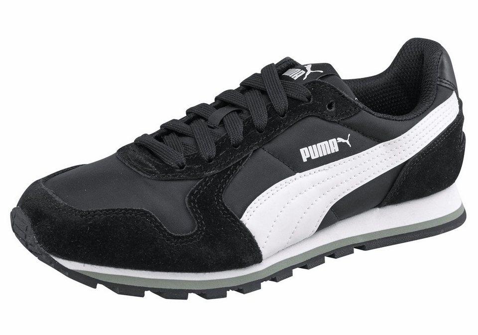 PUMA »St Runner NL« Sneaker in schwarz-weiß