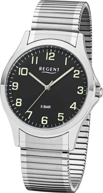 Regent Quarzuhr »11310063«, mit Leuchtzeiger