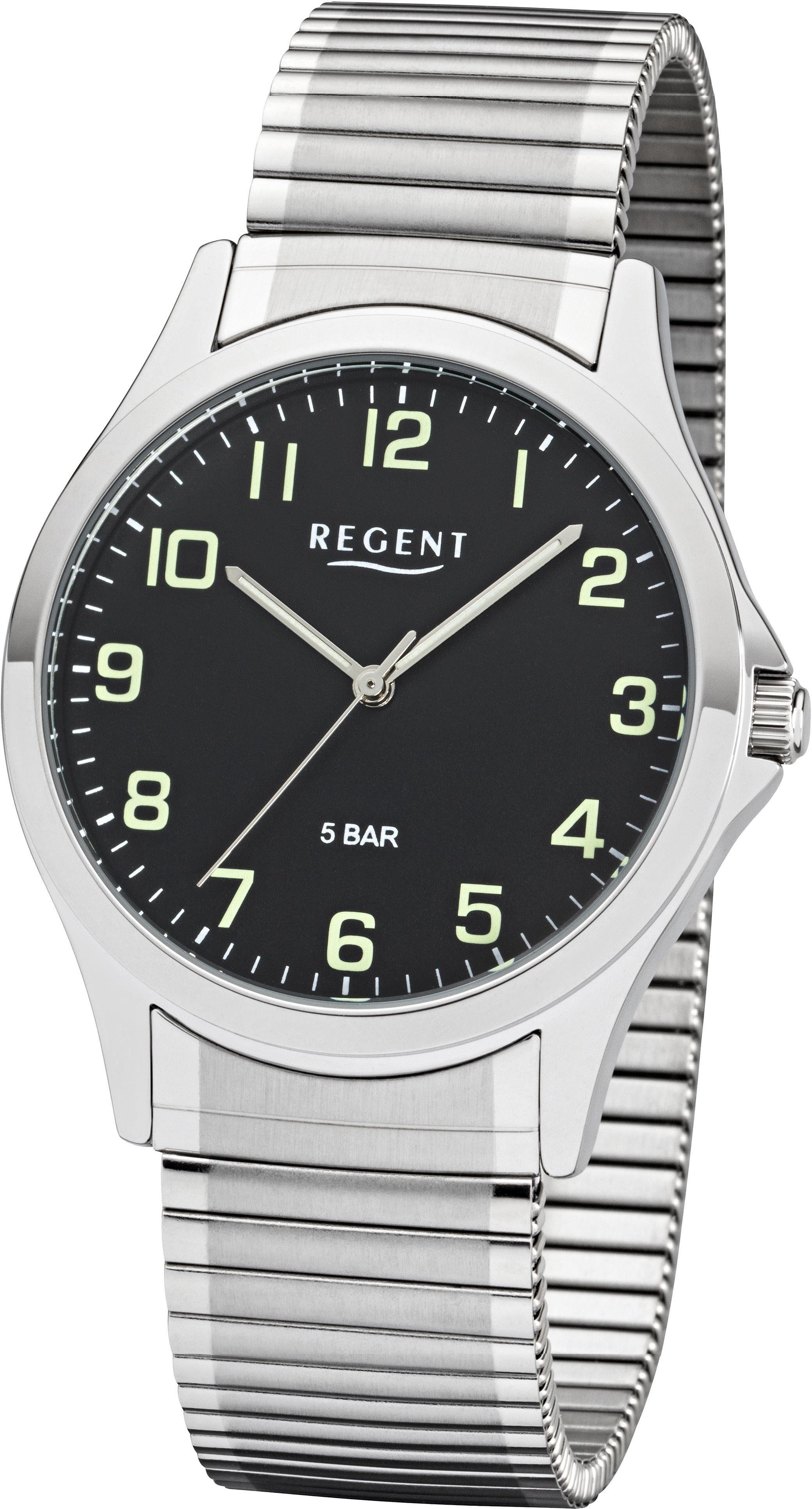 Regent Quarzuhr »11310063« mit Leuchtzeiger