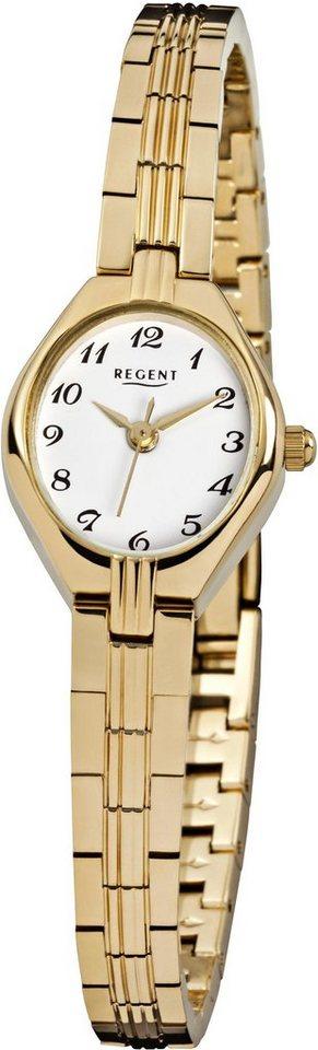 Regent Quarzuhr »12160045« in goldfarben